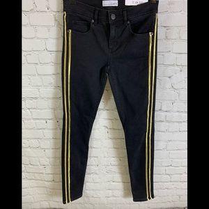 LOFT Black Denim Modern Skinny Jeans Sz 24/00